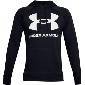 Bluza Męska Sportowa Under Armour Rival Fleece Big Logo Hoodie 1357093-001