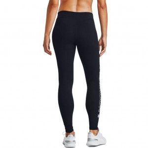 Legginsy Damskie do biegania UNDER ARMOUR Favorite Wordmark