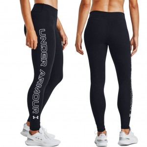 Legginsy Damskie Spodnie UNDER ARMOUR Favorite Wordmark