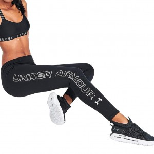 Legginsy Damskie UNDER ARMOUR Favorite Wordmark 1356403-001 2